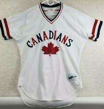 Vancouver Canadians Ravens Athletics Baseball Jersey Vintage Size XL White