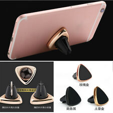 Triangle Magnetic Car Air Vent Mount Holder Cradle Cip Stand For Samsung iphone