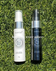 Santee MATTE Primer & Setting Spray Set - 2 PCs! Authentic, US SELLER