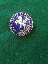 Lawn Bowls Enamel Badge Kent County Bowling Association