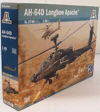 Italeri 1:48 2748 Ejército Británico aircorps AD-64D kit modelo de avión Apache