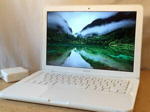 """Apple MacBook 13"""" White 2010+Upgraded 8GB RAM+1TB SSHD solid state hybrid drive"""