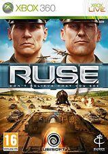 R.U.S.E (RUSE) Microsoft Xbox 360 PAL Brand New