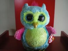 Ty Beanie Boos Opal the Owl 6 inch NWMT. JUSTICE EXCLUSIVE