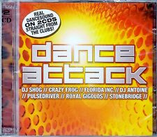 DANCE ATTACK VOL. 1 - REAL DANCESOUND STRAIGHT FROM THE CLUBS! / 2 CD-SET - NEU