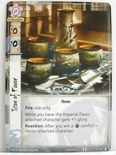 Legend of the five rings LCG - 1x #052 Icon of favor-the fires within