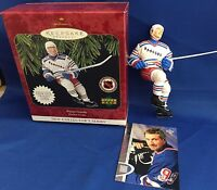 Hallmark Keepsake WAYNE GRETZKY Ornament #1 Hockey Upper Deck 1997 NEW in BOX