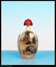 Glass Snuff Bottle Asian Antiques