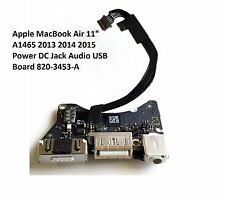"11"" Apple MacBook Air  A1465 DC Jack Power Audio USB Board  2013 2014 820-3453-A"