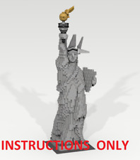 CUSTOM LEGO 3450 BUILDING Statue of Liberty (Statue) New York. INSTRUCTIONS ONLY