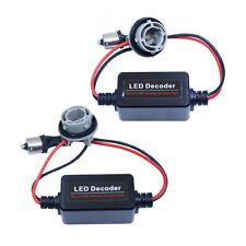 2Pcs LED Annuleur Décodeur ChargeCANBUS BA15S P21W 1156   Résistance décodeur