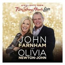 JOHN FARNHAM/OLIVIA NEWTON-JOHN TWO STRONG HEARTS LIVE CD NEW