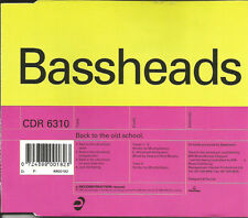 BASSHEADS Back To The Old School MIX & UNRELEASED CD Single SEALED USA seller