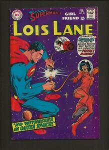 Superman's Girlfriend Lois Lane 81 VF+ 8.5 High Definition Scans