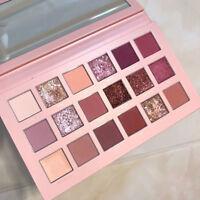 18 Couleurs Palette de Fard à Paupières Beauté Maquillage Chatoiement Mat Cadeau