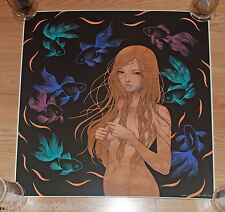 Audrey Kawasaki Art Print Keeper S/# 150/200 SDCC ComicCon Nude Poster Giclee