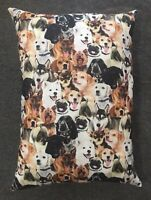 "Beautiful Handmade Dog Puppy Accent - Throw Pillow 13"" x 10"""