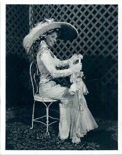 1993 Actress Gina Biancardi My Fair Lady Musical Galveston Island Press Photo