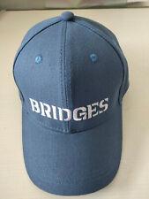 Death Stranding Cosplay Hat Sam Bridges Embroidery Adjustable Blue Baseball Cap