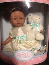 My Sweet Love Baby Doll Plush Bear African American