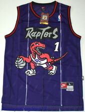 NWT Throwback Hardwood Jersey TRACY McGRADY 1 Toronto Raptors Purple Men - Sz S