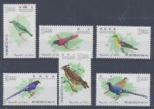 China-Taiwan 640/45 postfrisch / Vögel (6305) ..................................