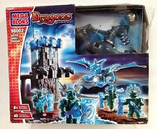 new sealed Mega Bloks 2004 Dragons Elementals #98002 Water Ghost Dragon set