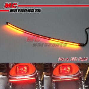 AMP-Z 37cm Smoke With Signal Light LED Tail Light bar Tube For Derbi motorcycles