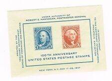 (12-895) 1- 100th Anniversary of  US  Postage sTamps