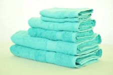 Eastern Touch 600 GSM Egyptian Cotton 6- Piece Towel Set, Ocean