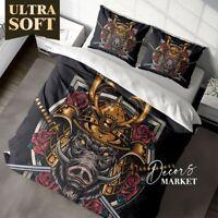 Monster Knife Rose Art Fantasy  Duvet Cover Double Bed Single Queen King