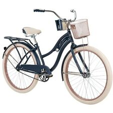 "Brand New Huffy 26"" Nel Lusso Women's Beach Cruiser Bike, Blue, in Hand!"