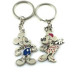 Angelia Disney Lover Mickey Lover His Her Keychain Keyring Couples Arrow I New