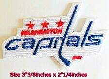 Washington Capitals NHL Hockey Sport Patch Logo Embroidery Iron,Sewing on Fabric