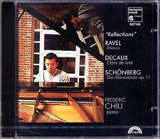Frederic CHIU: RAVEL Miroirs DECAUX Clairs de lune SCHOENBERG 3 Klaiverstücke CD