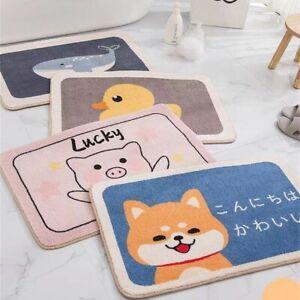 Cartoon Animal Door Mat Non-slip Carpet Soft Home Bathroom Balcony Doorway Mat