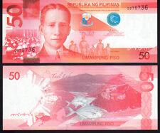 Philippines 50 Piso 2010 P207a Mint Unc