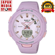 CASIO BABY-G BSA-B100-4A2JF G-SQUAD Steptracker Bluetooth Ladies BSA-B100-4A2