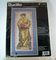 Bucilla O' Holy Night Counted Cross Stitch Kit #41546 NEW Old Stock 1996 Sealed