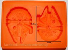 Star Wars Millenium Falcon Chocolate Fondant Clay Jelly Soap Mold Molder