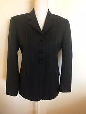 CYNTHIA MUNRO Show Coat 6S Navy Blue Pinstripe Riding Jacket Ladies