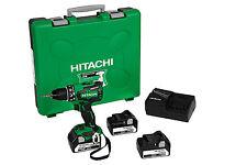 Hitachi DS18 DBSL Akku-Bohrschrauber 3x 5,0 Ah Akkus Akkuschrauber im Koffer