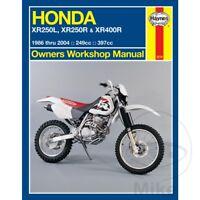 Honda XR 250 R 2001 Haynes Service Repair Manual 2219