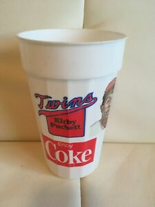 1986 Kirby Puckett, Minnesota Twins Coke Cup