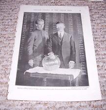 1919 SECRETARY OF WAR NEWTON BAKER DRAWING 1ST NUMBER DRAFT Print Photograph WWI