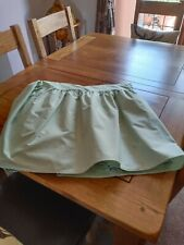 valance sheet single pale green used