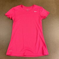 Nike Dri-Fit Women's Size XS Hot Pink Short Sleeve Crew Neck Athletic T Shirt