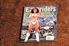 EASYRIDERS MAGAZINE MARCH 1990 VERY FINE BIKER HOT BABES CHICKS MOTORCYCLES
