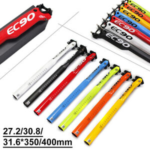 EC90 3K Carbon MTB Road Bike Seatpost Bicycle Seat Post 27.2/30.8/31.6-350/400mm