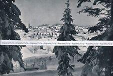 St. Georgen im Schwarzwald - Ansicht des Dorfes -    um 1950 - - -  Q 29-16